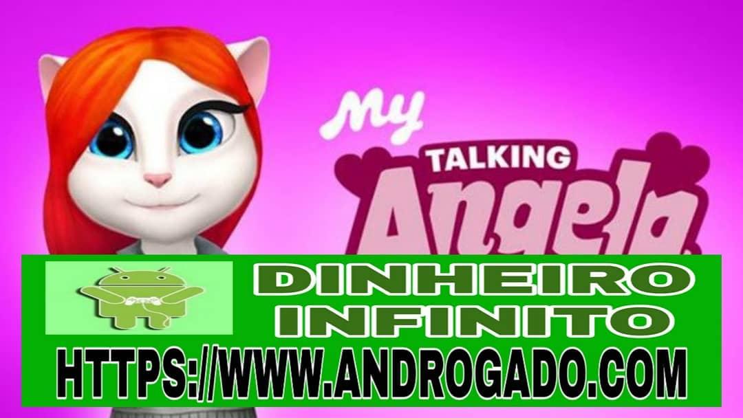 My Talking Angela v4.6.0.720 Apk Mod – Dinheiro Infinito